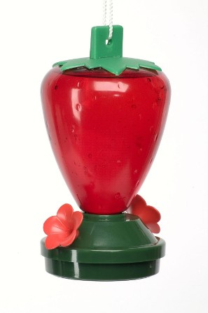 artline5556 - Artline Strawberry Hummingbird Feeder 12 oz.