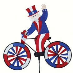 PD25997 - Premier Designs Uncle Sam Bicycle Wind Spinner