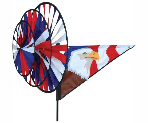 PD22146 - Flying Bird Wind Spinners Eagle Triple by Premier Designs