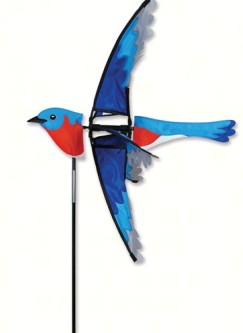 PD25138 - Flying Bird Wind Spinner Bluebird by Premier Designs