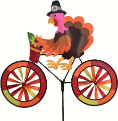 PD26727 - Premier Designs Turkey Bicycle Wind Spinner