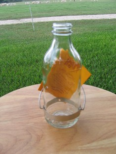 bestr8 - Best-1  Replacment 8 oz. Glass Bottle for  Hummingbird Feeder