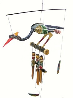 ch174a - Bamboo Wind Chimes by Cohasset Imports Abby