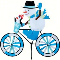 PD26712 - Premier Designs Snowman Bike Wind Spinner