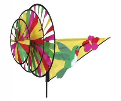 PD22106 - Flying Bird Wind Spinners Hummingbird Triple by Premier Designs