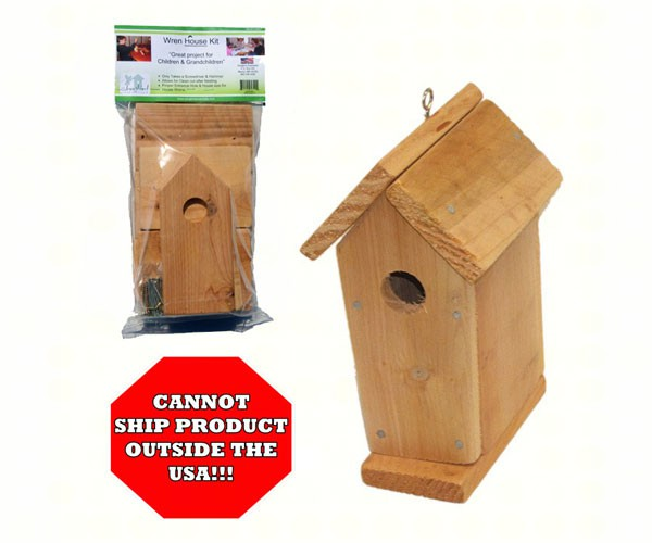sesc00607 - Cedar Wren Bird House Kit