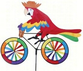 PD25994 - Premier Designs Parrot Bicycle Wind Spinner