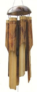 ch144 - Bamboo Wind Chimes by Cohasset Imports Cohasset Imports Medium Whisper
