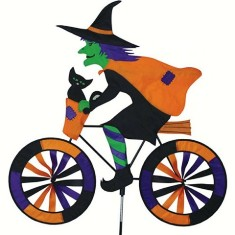 PD25998 - Premier Designs Witch Bicycle Wind Spinner