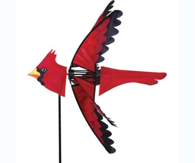 PD25002 - Flying Bird Wind Spinner Cardinal by Premier Designs