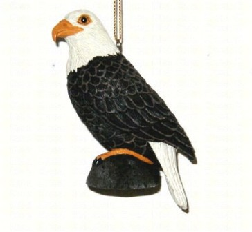 FWC159 - Fisher Wildlife Bird Ornaments Eagle