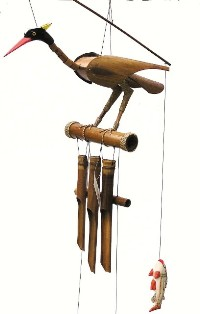 ch147 - Bamboo Wind Chimes by Cohasset Imports Rodney
