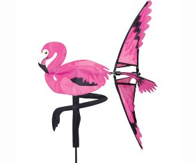 PD25009 - Pink Flamingo Spinner 21 inch