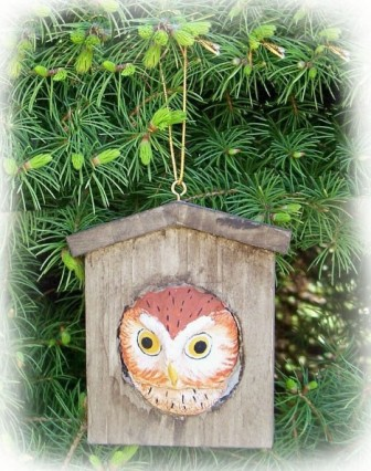 FWC176 - Fisher Wildlife Bird Ornaments