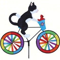 PD26714 - Premier Designs Tuxedo Cat Bicycle Wind Spinner