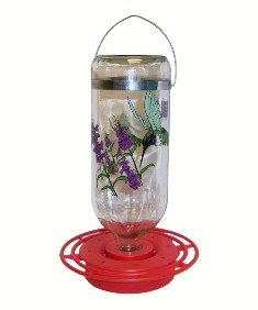 BEST32BC - Best 1 Hummingbird Feeder 32 oz Black Chinned