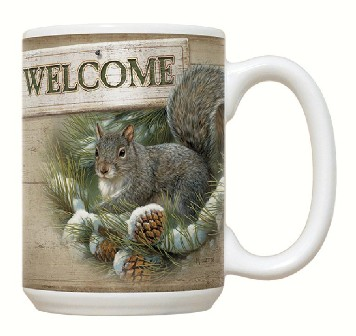 FEC67 - Welcome to the Nut House 15 oz Coffee Mug by Fiddler's Elbow