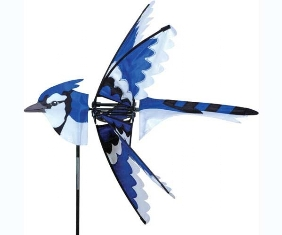 PD25001 - Flying Bird Wind Spinners Eastern Blue Jay by Premier Designs