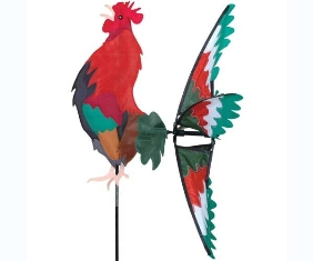 PD25011 - Premier Designs Wind Garden Morning Rooster Spinner