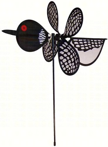 ITB2810 - Flying Bird Wind & Garden Spinners Loon Baby Bird by In The Breeze