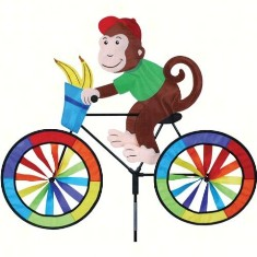 PD26709 - Premier Designs Monkey Bicycle Wind Spinner