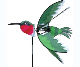 pd25003 - Flying Bird Wind Spinner Hummingbird