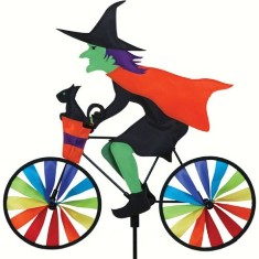 PD26852 - Premier Designs Witch Bicycle Wind Spinner